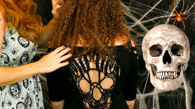 Halloween Hair Play, Back Tickling & Whispers