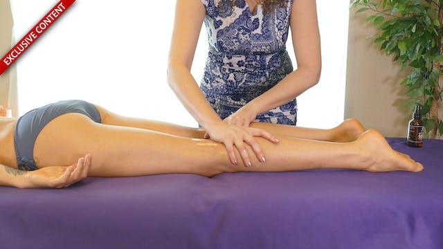 Basic Leg Massage with Corrina