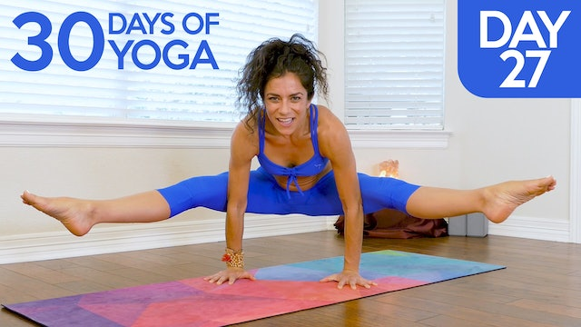 Day 27: Advanced Arm Balances