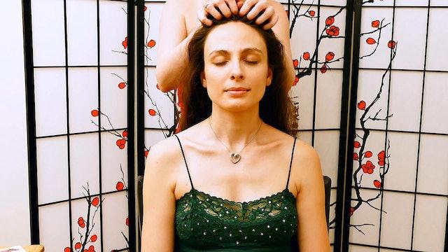Corrina & Melissa, Scalp Massage + Relaxation Tips