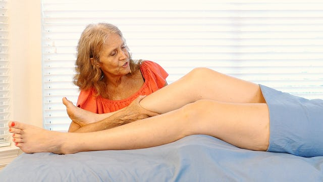 Advanced Massage for Knee Issues with Athena