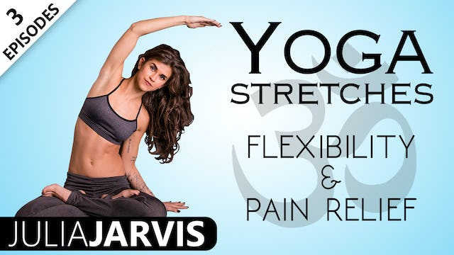 Yoga Stretches Flexibility & Pain Relief