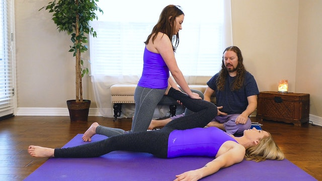 Partner Yoga Massage: Hips & Low Back Pain