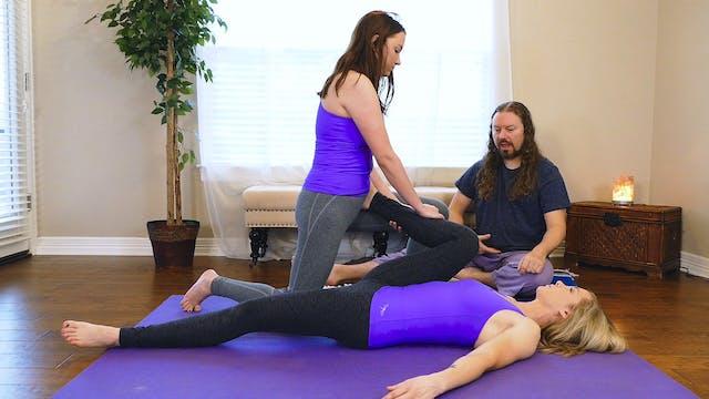 Partner Yoga Massage: Hips & Low Back...