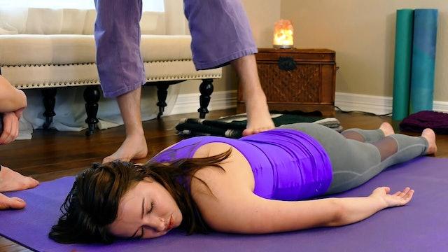 Partner Yoga Massage: Glutes Part 1
