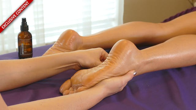 Relaxing Foot Massage with Corrina