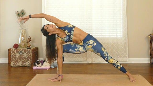 Power Yoga Challenge- Full Body Flow