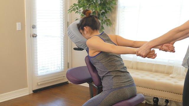 Basic 10 Minute Chair Massage Routine...