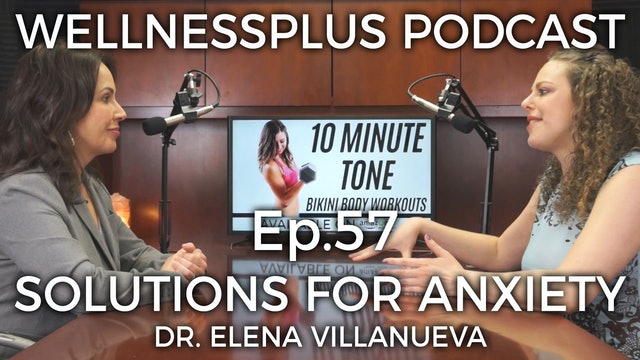 Data Driven Solutions for Anxiety and Depression with Dr. Elena Villanueva