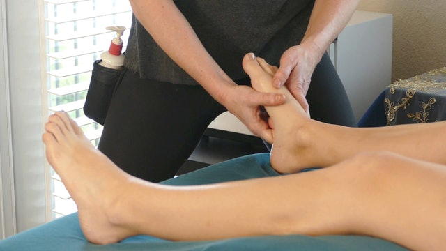 Supine Leg Massage with Lindsay & Adrienne