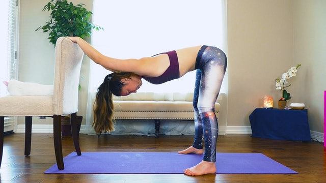 Easy, Gentle, Chair Assisted Yoga for Improved Flexibility and Mental Clarity