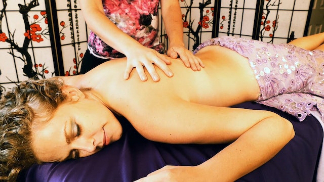 Melissa, Ear to Ear Heavy Whispers & Back Massage