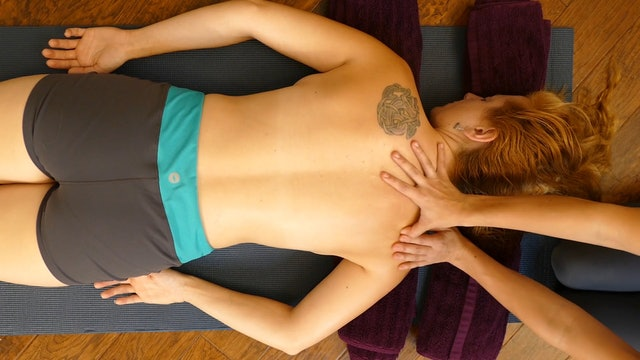 Easy Back Massage: No Table Needed! Chandler Rose