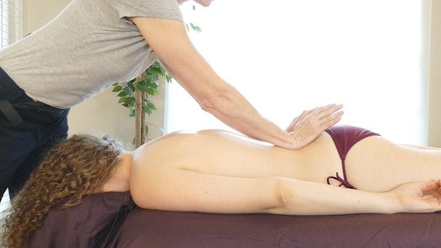 Back Massage, Guided Breathing & Meditation, Jade