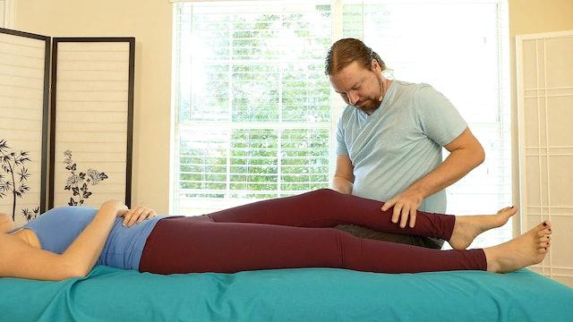 Massage for Leg Pain