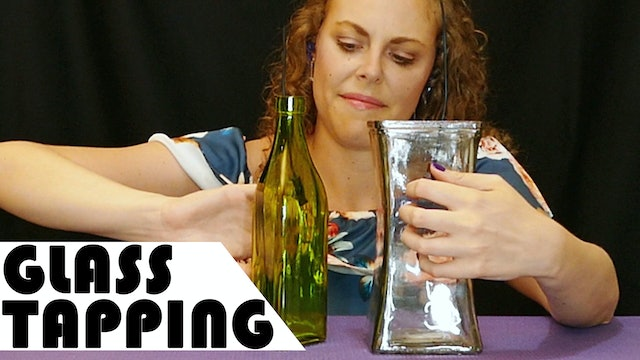 Microphones In Glass Bottles, Lots of Tapping!