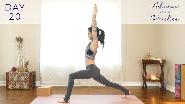 Day 20: Deep Hamstring Flexibility