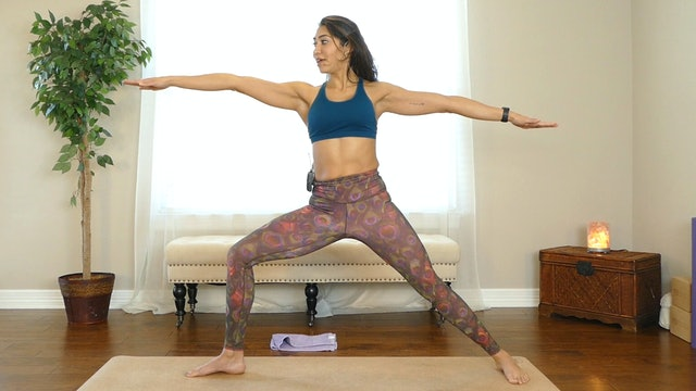 25 Minute Core Strength Power Yoga