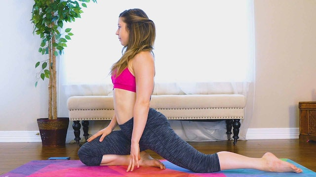 15 Minute Hip Mobility and Flexibility with Hannah