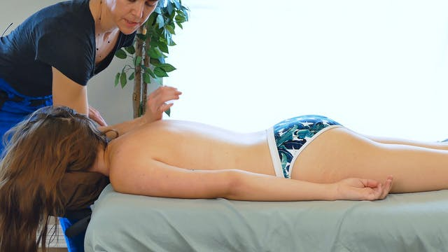 Sports Massage for the Back with Jade