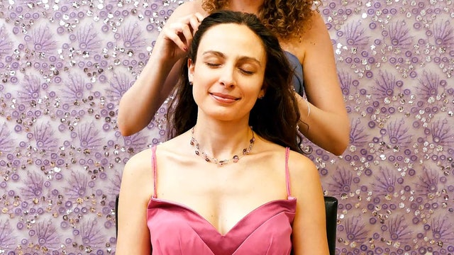 Prom Night! Scalp Massage & Hair-Styling, Melissa