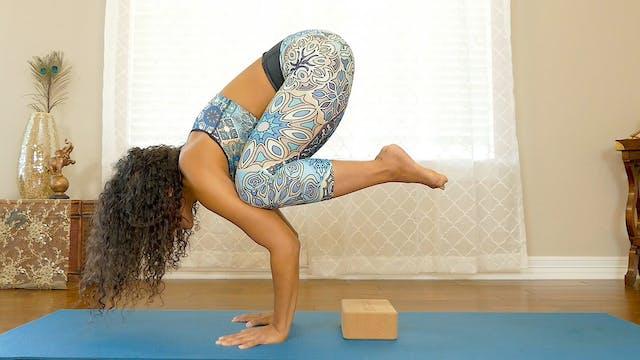 Crow Pose Challenge - Arm Balance & C...