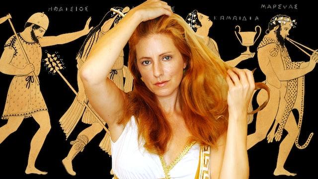 Greek Goddess Whispers & Hair Brushing, Adrienne
