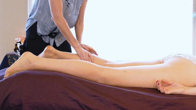 Jade, Deep Tissue Massage for Legs: Part 1