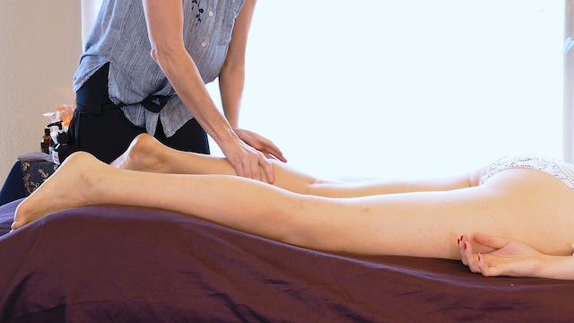 Jade, Deep Tissue Massage for Legs: Part 1
