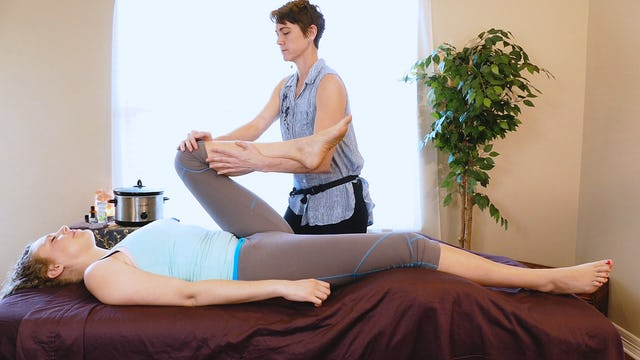 Supine Stretches