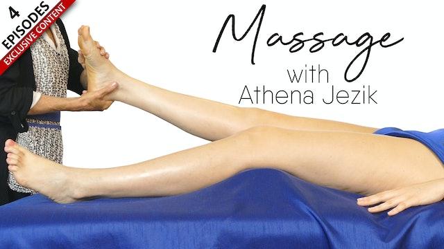Massage with Athena Jezik