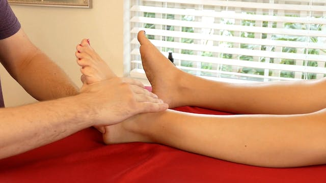 Foot Massage Routine Part 1 with Robert