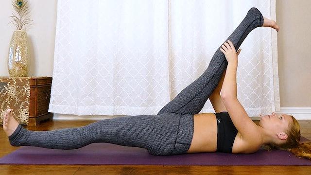 Beginner Pilates Core: Low Belly