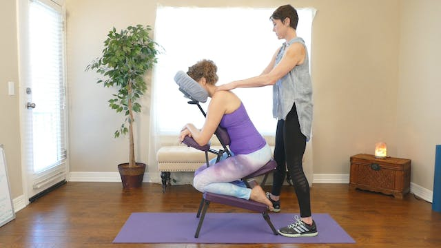 Stretches for Chair Massage with Jade