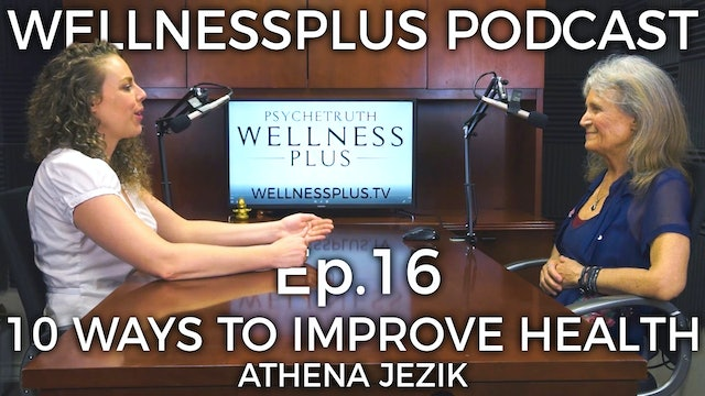 10 Ways to Improve Your Health and Fitness With Athena Jezik