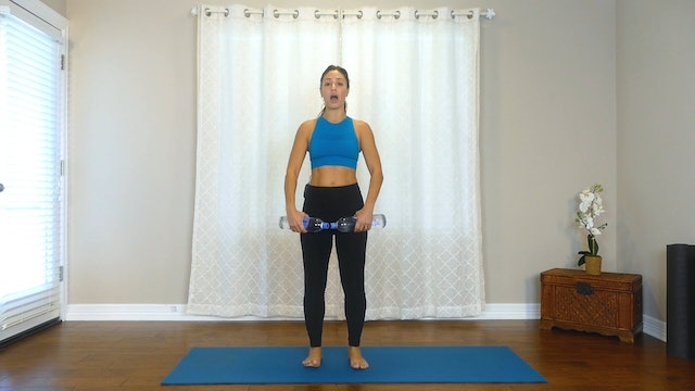 Water Bottle Weights Full Body Workout
