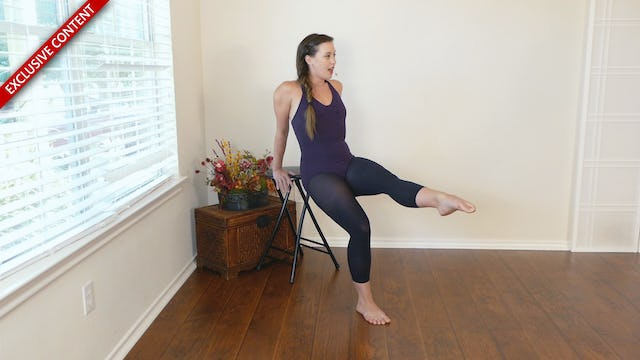 Seated Ballet Workout