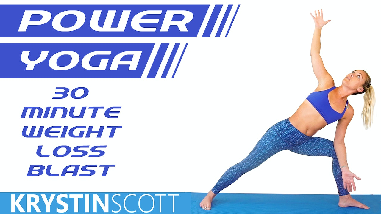 Power Yoga 30 Minute Weight Loss Blast