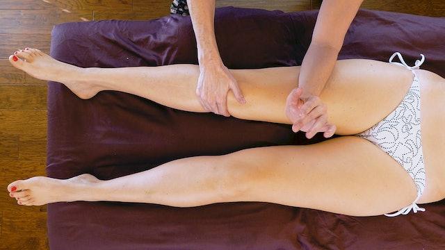 Jade, Deep Tissue Massage for Legs: Part 2