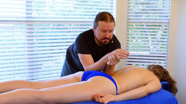 Low Back & Glute Massage Basics with Robert