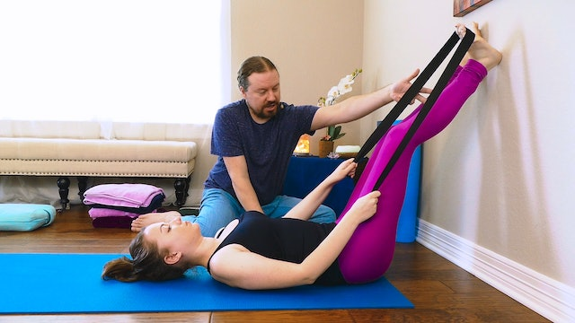 Yoga Massage for Foot & Calf Pain
