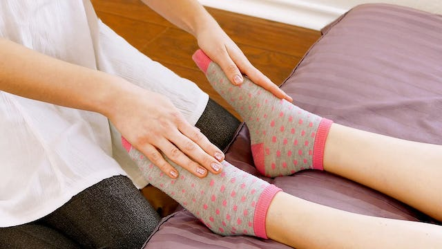 Part 9: Relaxing Foot & Calf Massage with Melissa