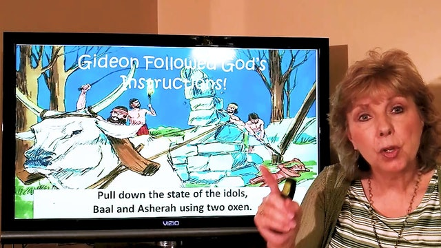 Tish Housley: Gideon (Judges 6-7) (Class for 6-year-old kids)
