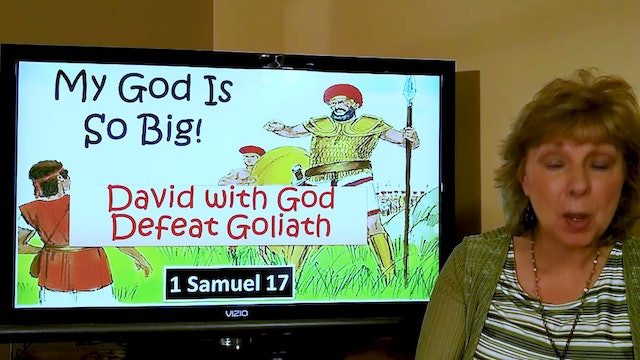Tish Housley: David and Goliath (1 Samuel 17) (Class for 6-year-old kids)