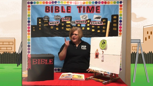 Heather Scarbrough : Daniel and the Lion's Den(Class for 4-year-old kids)