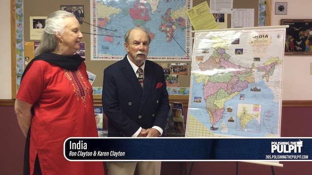Ron and Karen Clayton: Mission Fair: India