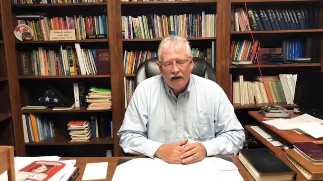 Eddie Finch: 2 Minutes Tops - My Best Advice to Preachers