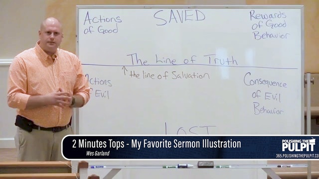Wes Garland: 2 Minutes Tops - My Favorite Sermon Illustration