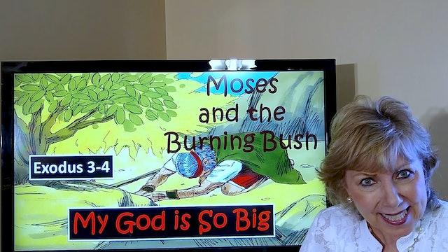Tish Housley: Moses & the Burning Bush (Exodus 3-4) (Class for 6-year-old kids)