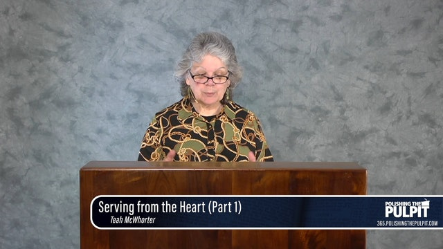 Teah McWhorter: Serving from the Heart #1